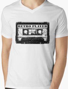 retro tape Mens V-Neck T-Shirt