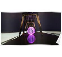Largs Bay Jetty Orb Poster
