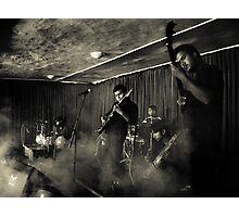 Smoky Gig Photographic Print