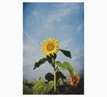 A Sunflower Up In The Sky One Piece - Short Sleeve