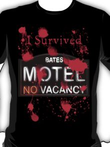 Bates Motel - I Survived! - T-shirt T-Shirt