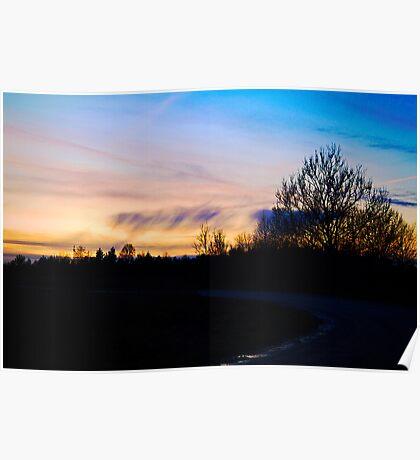 Skies over Hiiumaa Poster