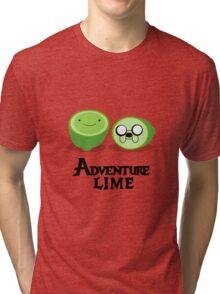 Adventure Lime Tri-blend T-Shirt