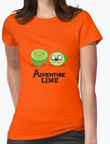 Adventure Lime Womens Fitted T-Shirt