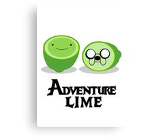 Adventure Lime Canvas Print