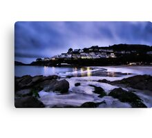 Looe Beach Canvas Print
