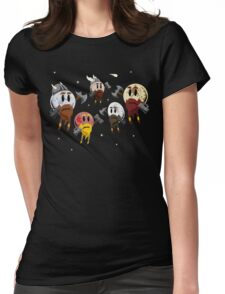 Dwarf Planets Womens Fitted T-Shirt