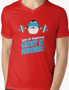 Pain Is Temporary, Glory Is Forever! v.3 Mens V-Neck T-Shirt