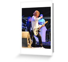 Rick Parfitt Greeting Card