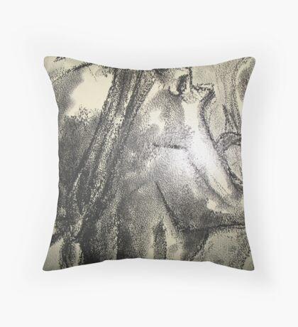 Third World War (The Scream) Throw Pillow