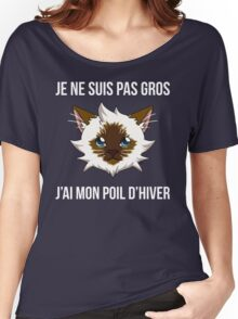 Je ne suis pas gros... (SLG Webshow) Women's Relaxed Fit T-Shirt