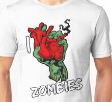 I Heart Zombies Unisex T-Shirt