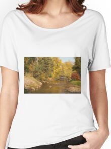 0085 Riverside in Autumn Women's Relaxed Fit T-Shirt
