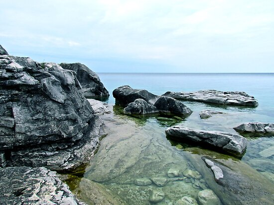Still Waters, Rocky Shores by Jessica Bradford