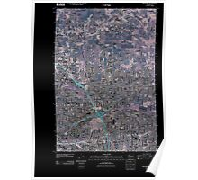 USGS Topo Map Washington State WA Orchards 20110404 TM Inverted Poster