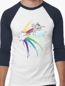 Shed Your Colours  Men's Baseball ¾ T-Shirt