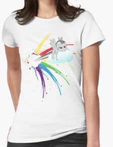 Shed Your Colours  Womens Fitted T-Shirt