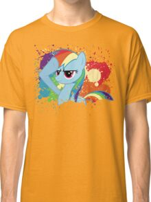 Salute to Rainbow Dash Classic T-Shirt