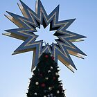 Christmas tree and star by catiapancani