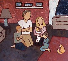 Family Prayer by mogencreative