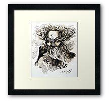 """""""Thor"""" Framed Print"""