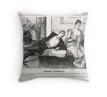 Reverse Psychology Punch Cartoon 1888 Throw Pillow