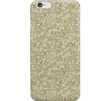Gold Glitter iPhone Case/Skin