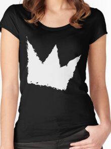 Ain't Royal - Crown (Black Series) Women's Fitted Scoop T-Shirt