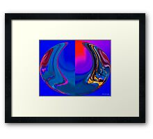 abstract 003 Framed Print