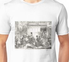 Fetching home the Christmas Dinner 1848 Unisex T-Shirt
