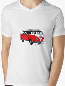 Volkswagen T2 Mens V-Neck T-Shirt