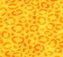 Yellow Leopard Print by Rewards4life