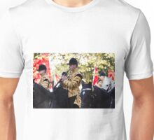 Royal Musicians play on horseback in the Mall Unisex T-Shirt