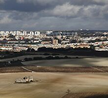 View from a Cloud - Jerez de la Frontera by fototaker