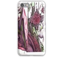 Flowers re-invented iPhone Case/Skin