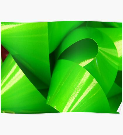 Really Green Bow Poster