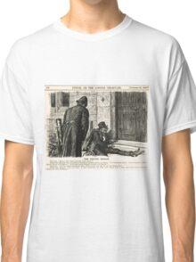 Festive Season Drunk Punch Cartoon 1888 Classic T-Shirt