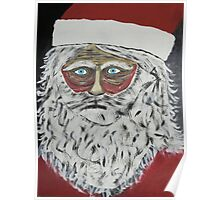 Santa Stressed Out Poster