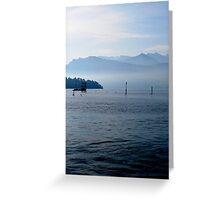 Lake of the Four Forested Cantons Greeting Card