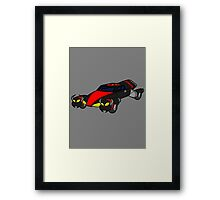 Dr Claws Madmobile Framed Print