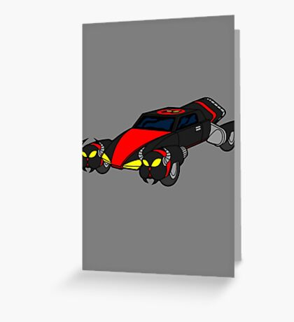 Dr Claws Madmobile Greeting Card