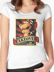 Take over the world Women's Fitted Scoop T-Shirt