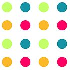 Candy Polka Dot Blue by Rewards4life