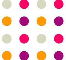 Candy Polka Dot Purple by Rewards4life