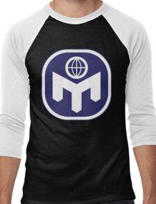 Mensa Real Genius Men's Baseball ¾ T-Shirt