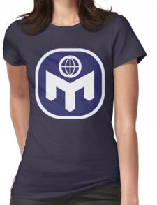 Mensa Real Genius Womens Fitted T-Shirt