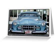 James Dean Hotrod Greeting Card