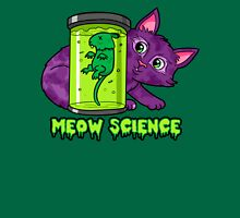 MEOW SCIENCE! Womens Fitted T-Shirt