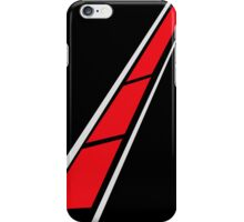 YAMAHA (Red on Black) iPhone Case/Skin
