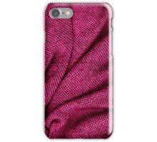 Pink Tweed Texture iPhone Case/Skin